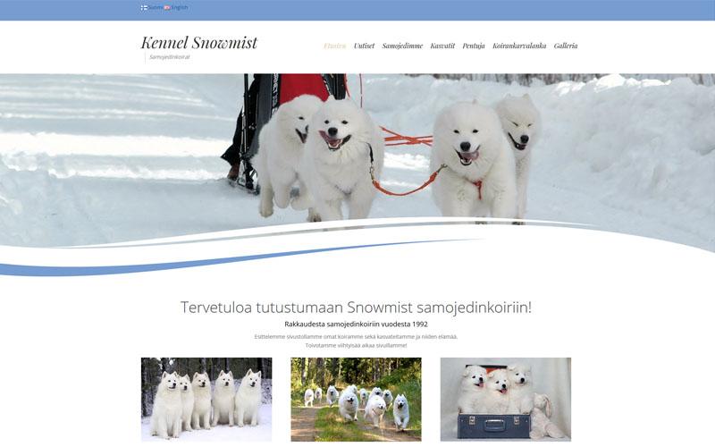 Case: Kennel Snowmist – Samojedinkoirat